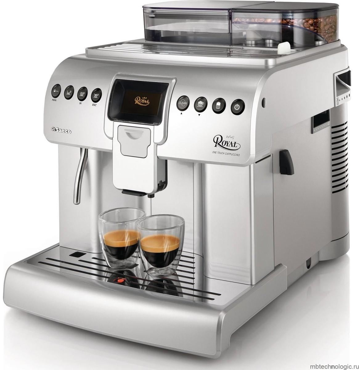 Saeco Royal One Touch Cappuccino HD 8930